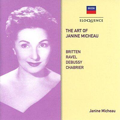 Janine Micheau - The Art Of Janine Micheau [CD] d'occasion  Expédié en Belgium