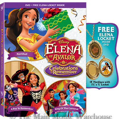 Elena of Avalor Celebrations to Remember DVD Navidad A Day To Remember Carnaval - 2017 Disney Halloween Movies