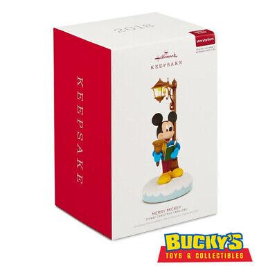 Disney Christmas Carolers Merry Mickey 2018 Hallmark Ornament Goofy Donald Duck ()