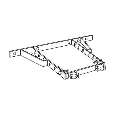 ROHN HB25AG House Bracket Wall Assembly 15