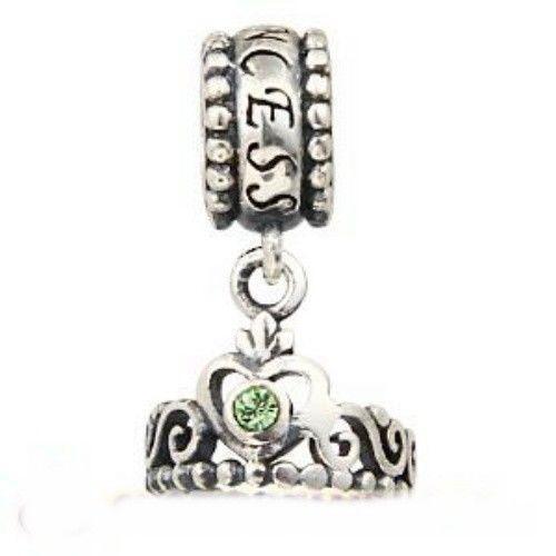 Green Amethyst Bracelet Sterling Silver