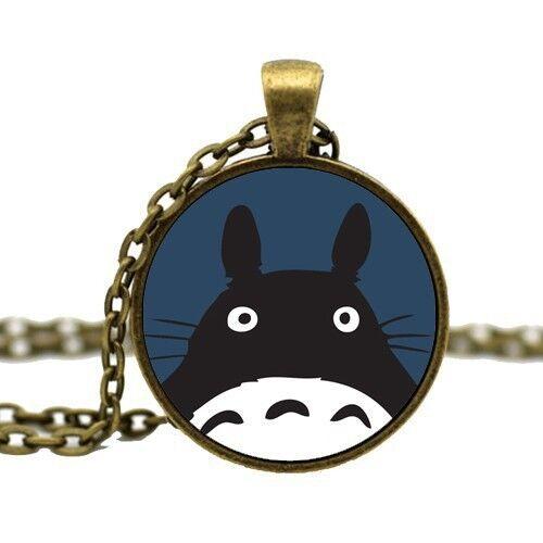 Details About Studio Ghibli Totoro Pendant Necklace Japanese Anime Jewellery Gift Idea Kawaii