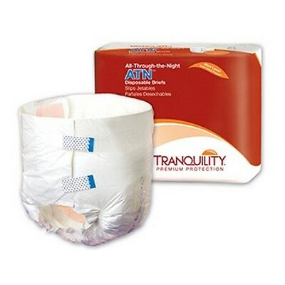 Tranquility ATN Overnight Heavy Absorbency Adult Diapers Briefs Medium PACK 12