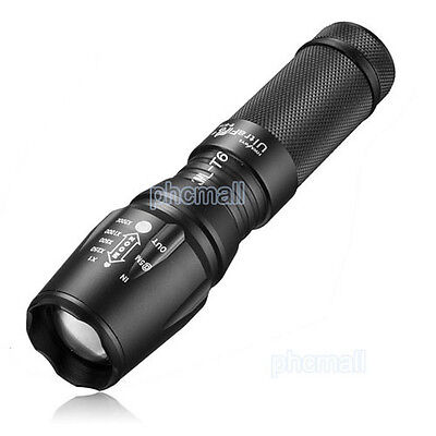 Ultrafire 10000LM CREE XM-L T6 LED 18650/26650/AAA Flashlight Focus Torch Light