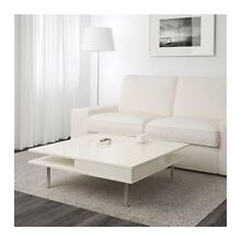 High-Gloss white coffee table Burwood Burwood Area Preview