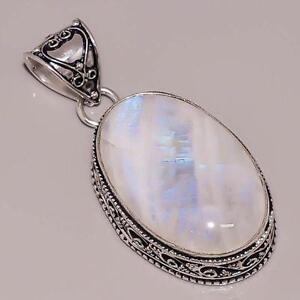 Moonstone pendant ebay vintage moonstone pendant mozeypictures Images