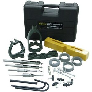 Cast iron drill press mortise chisels kit