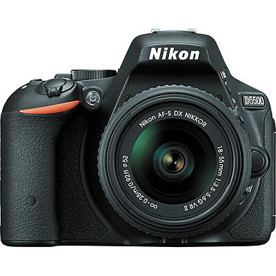 Купить Nikon D5500 - Nikon D5500 DX-format Digital SLR w/ 18-55mm VR II Kit (Black)!! Brand NEW!!