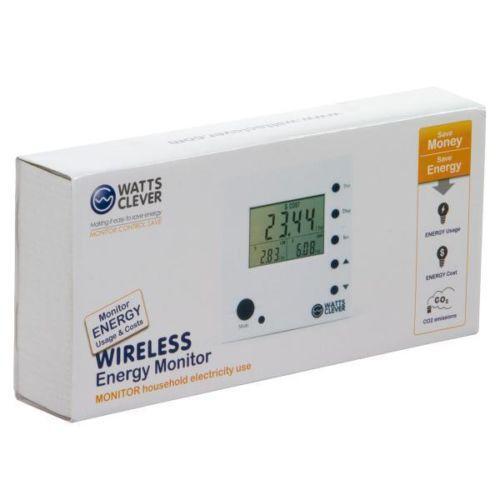 Wireless Power Monitor : Wireless energy monitor electrical solar ebay