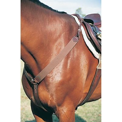 Dover Wellington Elastic Jumper Breastplate New w/o Tag Full Size Tried on Horse