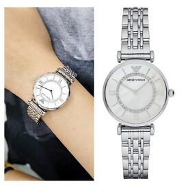 EMPORIO ARMANI LADIES WATCH - AR1908 GENUINE