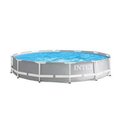 Intex Durable Prism Steel Frame Above Ground Swimming Pool (Open Box) Intex Frame Pool