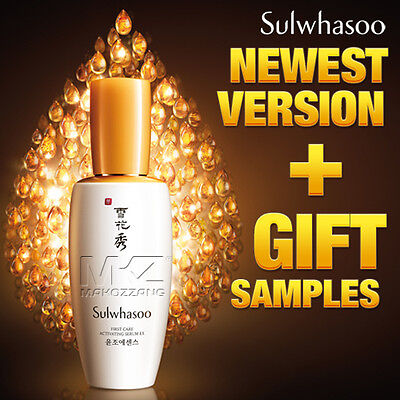 Sulwhasoo First Care Activating Serum EX Full Size Upgraded Amore Pacific Newest
