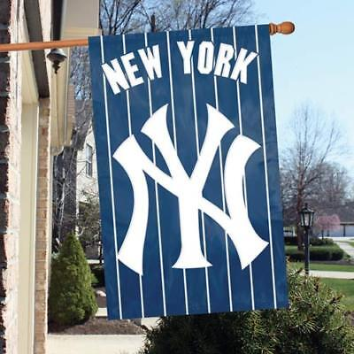 New York Yankees MLB - Applique Banner Flag - Free Shipping