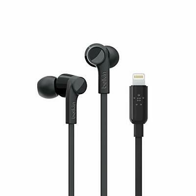 Belkin G3H0001BTBLK Ltg In-ear Headphones Better Black. Rockstar Headphones
