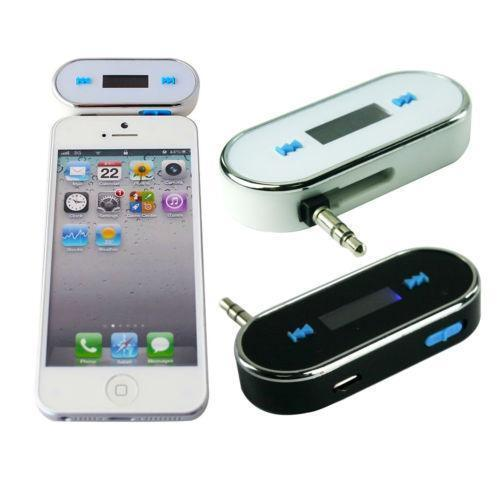 wireless fm transmitter iphone ebay. Black Bedroom Furniture Sets. Home Design Ideas