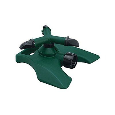 HOME PLUS 7303761 3-ARM PLASTIC REVOLVING SPRINKLER, FREE SHIPPING