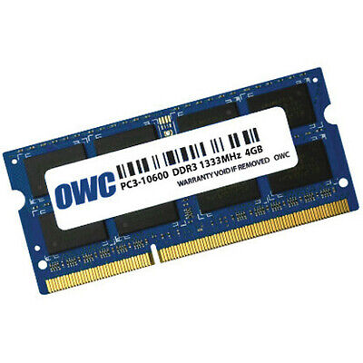 OWC OWC1333DDR3S4GB DDR3 1333MHz SDRAM Single Memory Module  ()