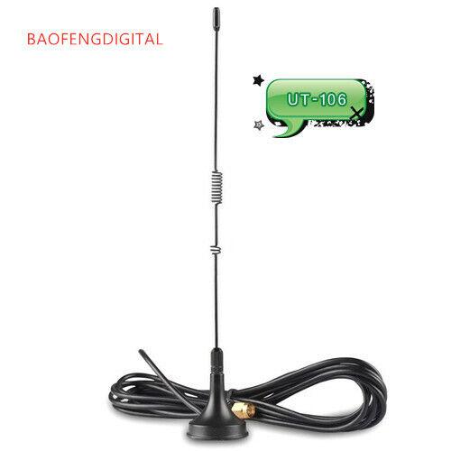 BAOFENGDIGITAL UT-106 Dual-Band Magnet Base Car Antenna for baofeng uv-5r uv-82