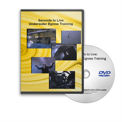 Seconds to Live Underwater Escape Training Survive A Water Accident DVD C75