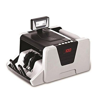 Pyle Money Counter - Bill Counting Machine With Counterfeit Detection -prmc550