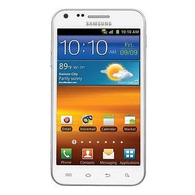 White SPRINT Samsung Galaxy S II Epic 4G Touch SPH-D710 16GB Clean ESN CDMA GOOD Epic 4g Cell Phone