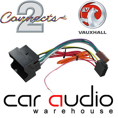 CT20VX01 Vauxhall Astra H 2004> Car Stereo Radio ISO Wiring Harness Adapter