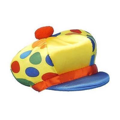 New Clown Jumbo Hat ~ Kostüm Zubehör ~ Halloween ~ It ~ gepunktet~ - Jumbo Clown Kostüm