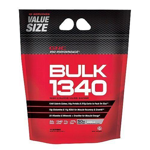 GNC Pro Performance Bulk 1340 Mass Weight Gainer - Vanill...