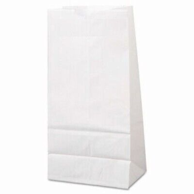 White 4# Standard-Duty Paper Grocery Bags, 500 Bags (BAG GW4-500)