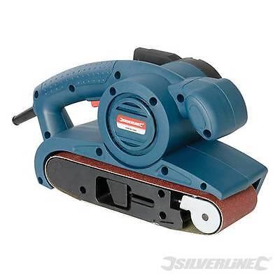 SILVERLINE 810W ELECTRIC BELT SANDER DUST BAG  SANDING BELTS