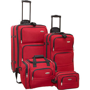 Samsonite-4-Piece-Travel-Set-Red