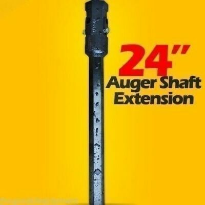24 2 Hex Variable Length Auger Drive Extension Fits All Brands Bobcatcat
