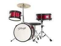 Drum Set - Stagg TIM JR 3/12 RD Drum Kit