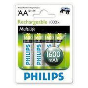 Philips AA Rechargeable Batteries