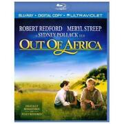 Out of Africa Blu Ray