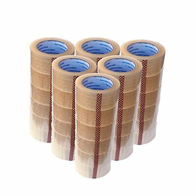 Carton Sealing Tape Rolls Quality Packaging 2 Mil Packing Moving Box 2x110 Yard