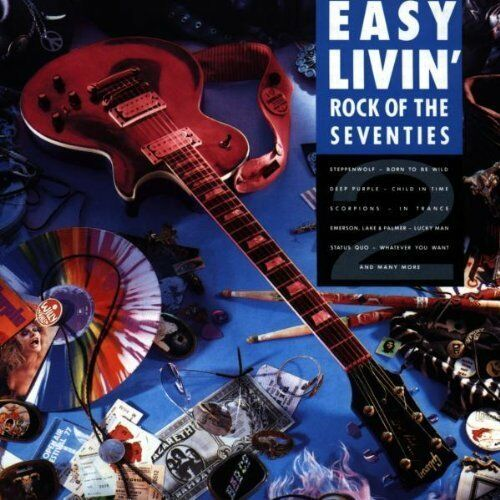 Easy Livin' 2-Rock of the Seventies Steppenwolf, Free, Emerson, Lake & .. [2 CD]