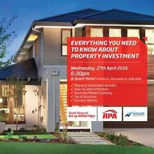 ADELAIDE Property Investment Workshop - 27th April 2016 Adelaide CBD Adelaide City Preview