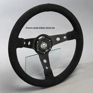 sportlenkrad wildleder lenkrad motorsport 350mm bmw e24 e28 e30 e32 e34 z1 neu ebay. Black Bedroom Furniture Sets. Home Design Ideas