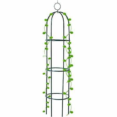 Tower Obelisk Garden Trellis 6.3 pies de alto Soporte para plantas para trepa...