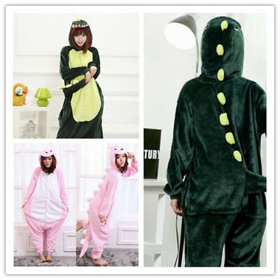 Dinosaur Unisex Adult Pajamas Kigurumi Cosplay Costume Animal Onesie0 Sleepwear - Dinosaur Adult