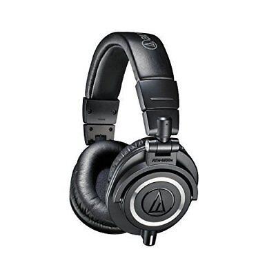 - Audio-Technica ATH-M50x Closed-Back Professional Studio Monitor Headphones Black