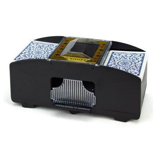 Two Deck Automatic Card Shuffler
