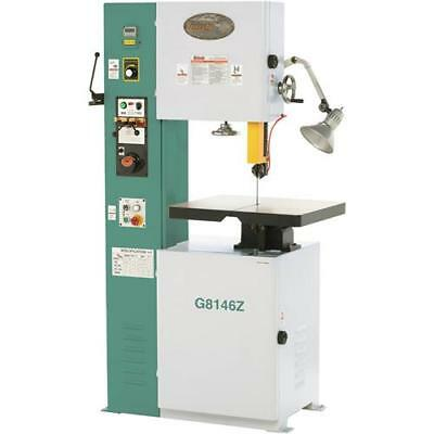 G8146z 15-34 Vs Vertical Metal-cutting Bandsaw With Inverter