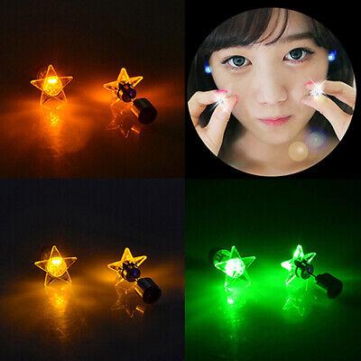 LED Light Star Earrings Studs for Party Christmas Halloween Festival Gift Well - Halloween Wellness