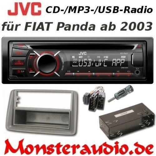 autoradio fiat panda radios dvd player wechsler ebay. Black Bedroom Furniture Sets. Home Design Ideas