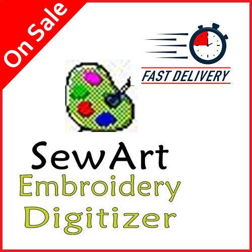 ❤️ SewArt Sew Art Software Embroidery digitizer Software genuine license