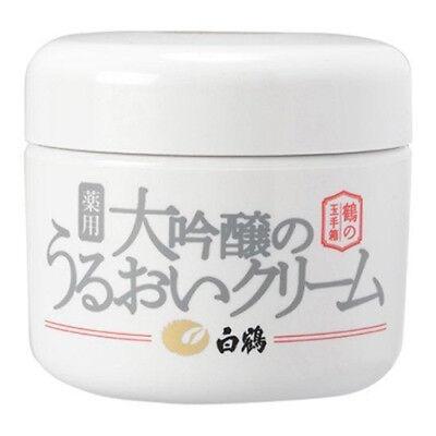 (Hakutsuru Daiginjo Premium Japanese Sake All-in-One Moisturizing Face Cream 90g)