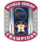 World Series Houston Astros MLB Rings